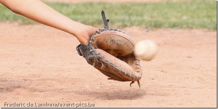 Baseball Minimes : Namur Angels - Merksem. 2ème tour du championnat. Victoire de Namur 10-6.